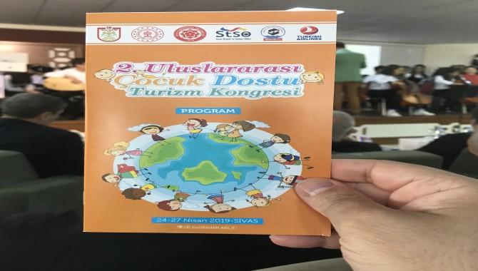 2. Çocuk Dostu Turizm Kongresi Sivas'ta Gerçekleşti