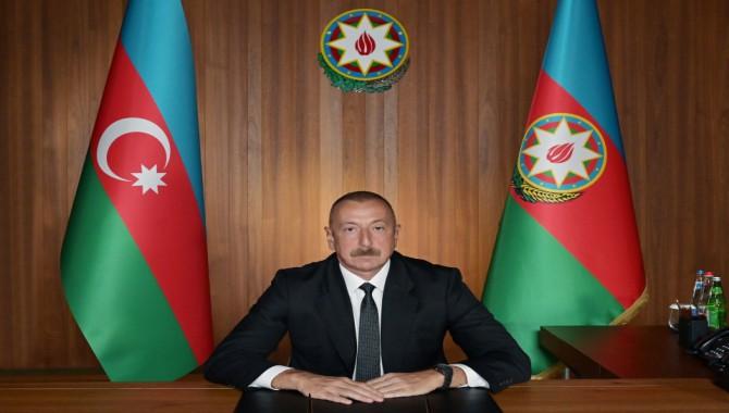 """ALİYEV; """"Azerbaycan'ın toprak bütünlüğü hiçbir zaman müzakerelerin konusu olmadı ve olmayacak"""""""