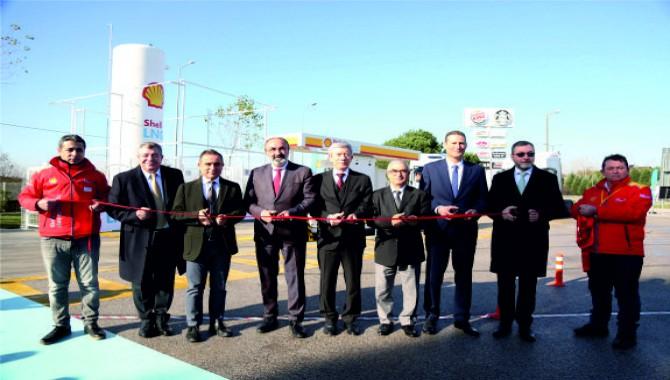 Çevre dostu LNG istasyonu Kocaeli'den start aldı