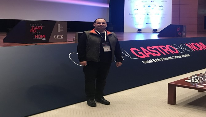 Gurme Gazeteci Veysel Kavrayan istcookfest2019'da