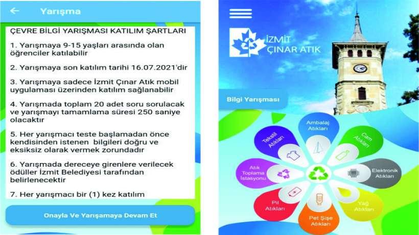 İzmit Belediyesi, çevre konulu bilgi yarışması düzenliyor