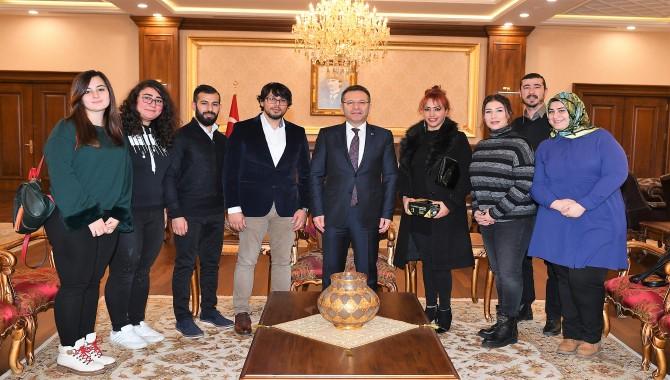 Kocaeli Valisi Hüseyin Aksoy HK PERFORMANS'ı Kabul Etti.