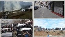 Artvin'de halk Carettepe'de madencilere karşı direniyor
