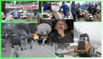 Cerattepe'de jandarma ve polis gölgesinde şantiye kuruluyor