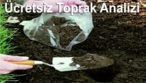 İzmit'te Çiftçiye Ücretsiz Toprak Analizi