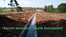 Kandıra'nın verimli toprakları suyla buluşuyor