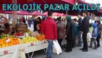Kocaeli'nin İlk Ekolojik Pazarı açıldı