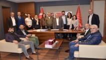 KOTSİAD'dan CHP'ye Ziyaret