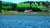 Mavi ve Yeşilin Yeniden Buluşması :  Seben Gölü