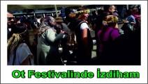 Ot festivaline ziyaretçi akını