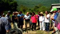 Şili'li  Biyolog, Aktivist  Agustin Sepulveda Sariego Türkiye'de
