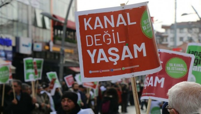 TMMOB: Kanal İstanbul Projesi'nde bilim insanlarına baskı deşifre oldu, iptal edilsin