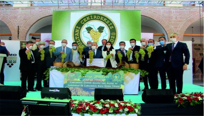 Üzüm ihracatında hedef, kuruda 500, tazede 180 milyon dolar