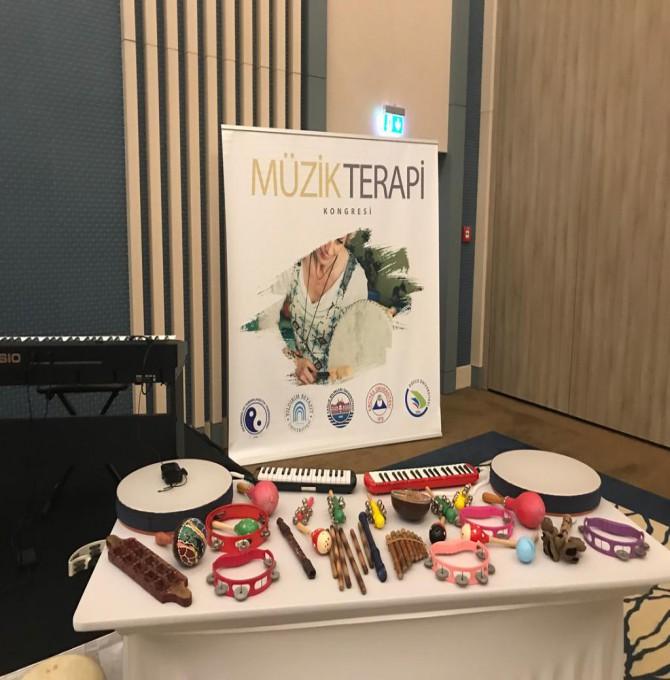 1. Ulusal Müzik Terapi Kongresi Mesleki Eğitim Çalıştayı'yla Başladı