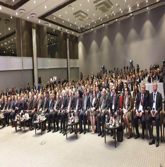 22. Avrasya Ekonomi Zirvesi'nde ''22 Yıllık Barış ve Diyalog Projesi''
