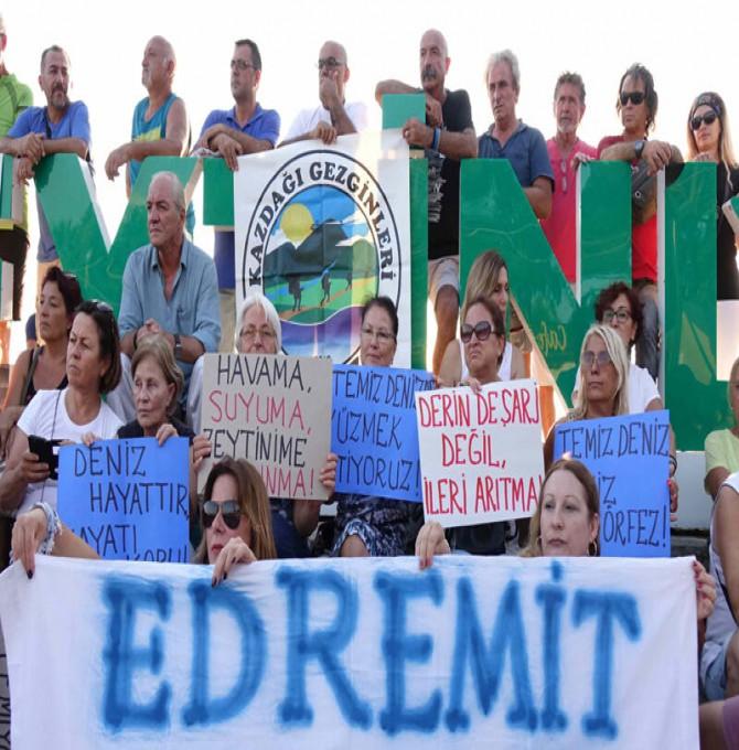 Edremit'de bulunan kurumlar doğa ve çevre mücadelesi ıçin elele veriyor