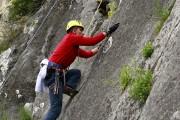 İnegöl Belediyesi kaya tırmanışı şenliği düzenliyor.