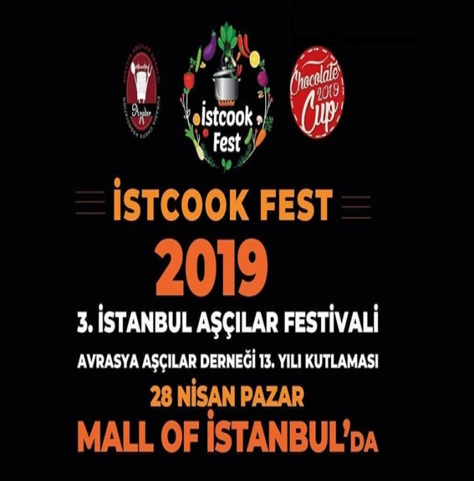 istcookfest 28 Nisan'da Mall Of İstanbul'da
