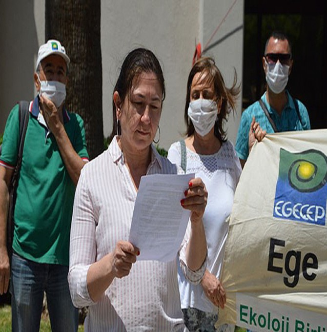 Kazdağları'ndaki direnişçilere destek ziyareti yapmak isteyen EGEÇEP'e izin verilmedi
