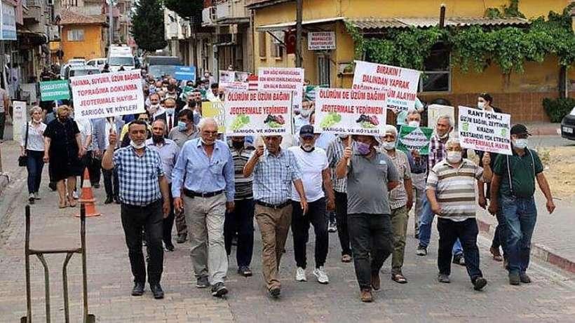 Manisa'nın JES ile imtihanı: Ahmetli'de JES karşıtı direniş başlatıldı