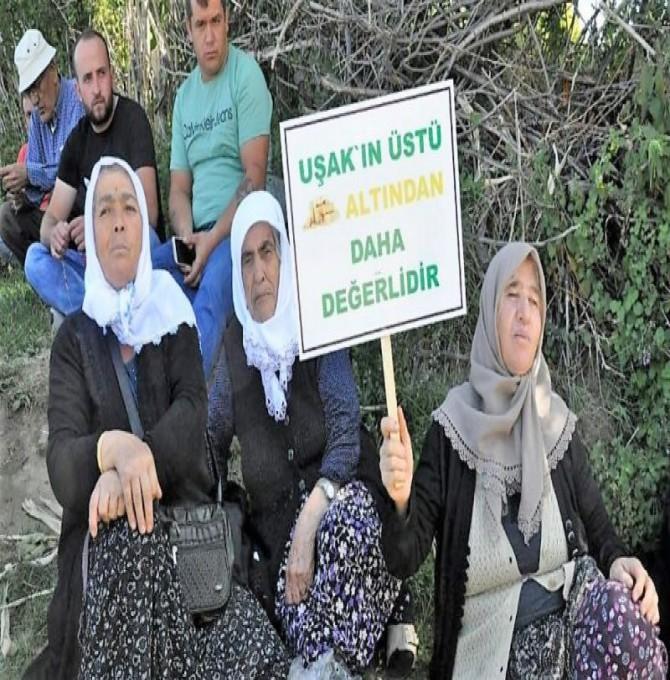 Murat Dağı'nda maden şirketine izin vermeyeceğiz!
