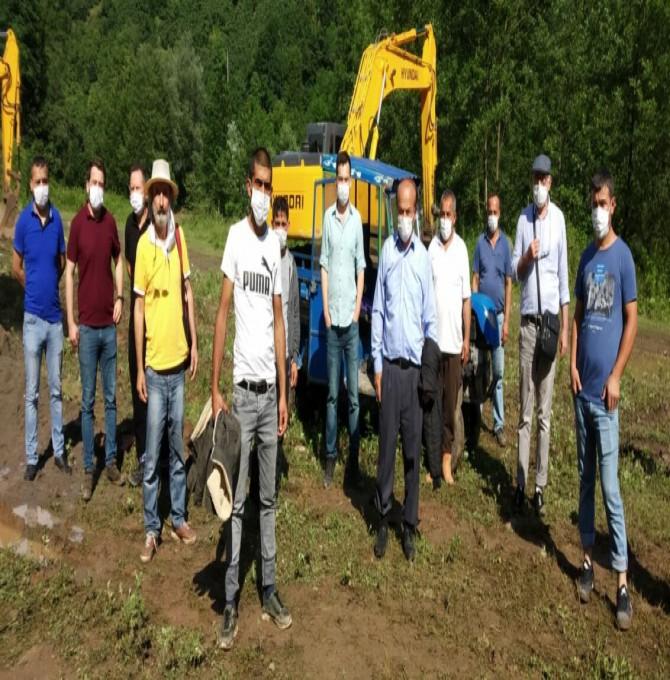 Ordu'da köylüler hes şirketinin ızinsiz çalışmasını durdurdu