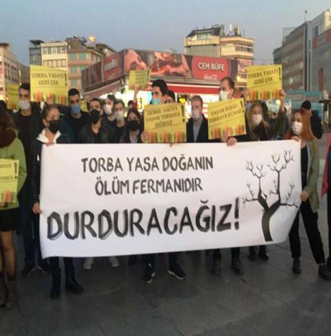 """""""Torba Yasa doğa ve yaşam alanlarını yok edecek"""""""
