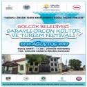 SARAYLI-ÖRCÜN Kültür ve Turizm Festivali'ne Davetliyiz