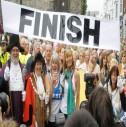 Yürüyen Melek Rosie Swale Pope Kocaeli'de