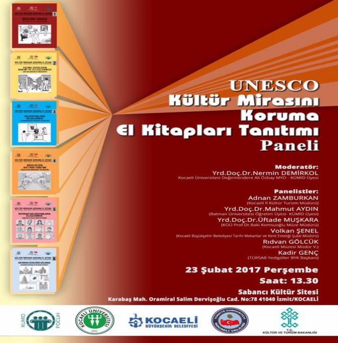 UNESCO Kültürel Mirası Koruma El Kitapları Paneli