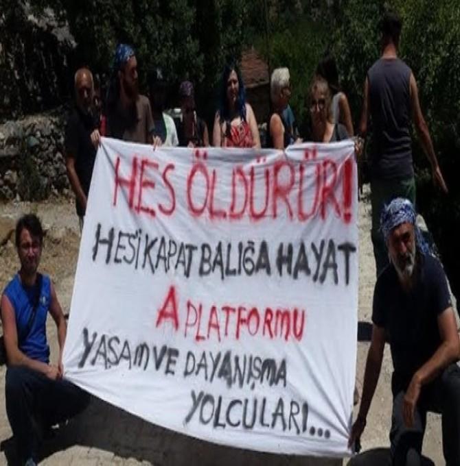 Yaşam Yolcuları': HES'ler halk, çevre ve hukuku tahrip ediyor