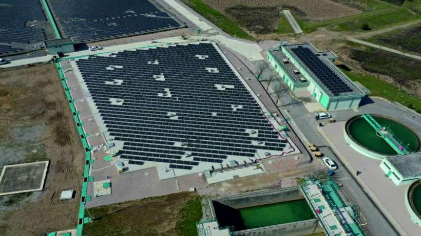 Yuvacık güneş santrallerinden 63 milyon tasarruf
